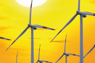 Offshore Windkraft Anlage